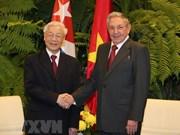 Vietnam y Cuba emiten declaración conjunta