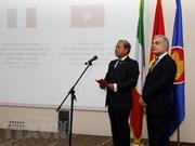 Celebran 45 aniversario del establecimiento de nexos diplomáticos Vietnam-Italia en Roma