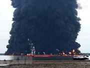 Indonesia: dos muertos en incendio por derrame de petróleo