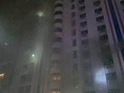 Incendio en edificio en Bangkok deja tres muertos y 61 heridos