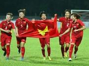 Equipo femenino de Vietnam listo para Copa Asiática de fútbol