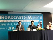 Efectuarán en Hanoi Exposición Internacional de Radiodifusión y Equipos Audiovisuales