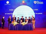 Vingroup firma acuerdo de cooperación con universidades estadounidenses