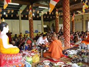 Dirigente vietnamita felicita a comunidad de Khmer por festival de Chol Chnam Thmay
