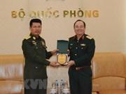 Fuerzas armadas vietnamitas y myanmenas fortalecen cooperación