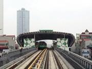 Ferrocarril elevado Cat Linh- Ha Dong comenzará su prueba en septiembre