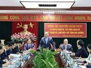 Premier insta a provincia norteña de Hai Duong a convertirse en centro industrial