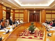Destacan esfuerzos por impulsar la construcción partidista en Vietnam