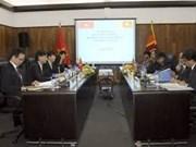 Vietnam y Sri Lanka analizan la cooperación bilateral en tercera consulta política