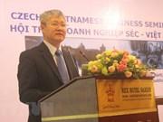 Vietnam y República Checa buscan intensificar cooperación comercial