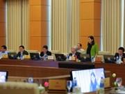 Legisladores vietnamitas destacan resultados en la lucha contra el despilfarro