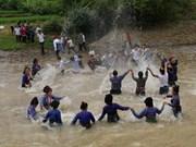 Reconocen como Patrimonio Cultural Intangible nacional a fiesta de agua de etnia Lao