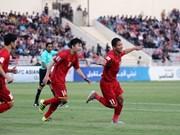 Vietnam escaló 10 posiciones en la Clasificación Munidal de FIFA