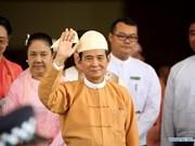 Presidente de Myanmar se compromete a impulsar el desarrollo nacional