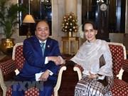 Vietnam y Myanmar, contrapartes de cooperación en múltiples esferas