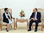 Premier de Vietnam confía en meta de 10 mil millones de dólares de intercambio comercial con Indonesia