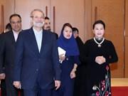 Presidente del parlamento iraní finaliza visita a Vietnam
