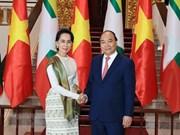 Vietnam y Myanmar emiten declaración conjunta