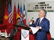 Efectúan seminario sobre ASEAN en México