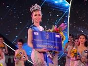 Nguyen Thi Kim Ngoc gana corona de Reina del Mar Global de Vietnam 2018