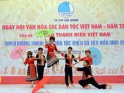 Nutrida participación en Día de Cultura de las etnias vietnamitas en Ciudad Ho Chi Minh