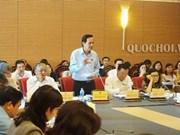 Efectúan octava reunión de la Comisión de Asuntos Sociales del Parlamento de Vietnam