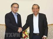 Vietnam y Singapur fortalecen cooperación interministerial