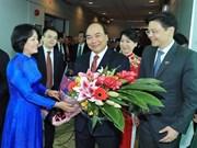 Premier vietnamita inicia visita oficial a Singapur