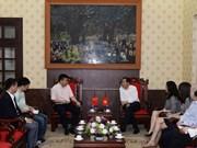 Vietnam y China por intensificar cooperación entre medios de prensa