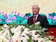 Máximo dirigente partidista de Vietnam llama a elevar competitividad del sector de construcción
