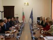 Vietnam y Bulgaria intensifican intercambio de experiencias en reforma judicial