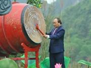 Primer ministro de Vietnam inaugura el festival Trang An 2018