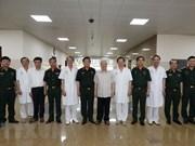 Exdirigentes vietnamitas reciben insignias por 80 años de militancia