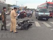 Vietnam: 52 fallecidos por accidentes de tráfico durante tres días feriados