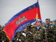 Camboya envía 428 soldados a operaciones de paz de la ONU en África