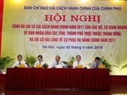 Quang Ninh, líder del Índice de Reforma Administrativa 2017 de Vietnam