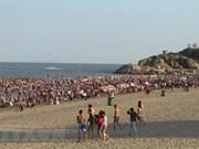 Provincia costera de Thanh Hoa recibe a casi 600 mil viajeros en días feriados