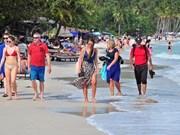 Provincia de Kien Giang acoge a más de dos millones turistas en primer cuatrimestre de 2018