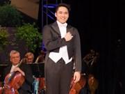 Cantante vietnamita gana Concurso de Música Vocal Simándy József