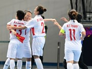Vietnam clasifica a los cuartos de final del campeonato asiático de fútsal