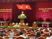 Comité Central del Partido Comunista de Vietnam prosigue análisis de labores de los cuadros