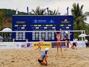 Arranca en Vietnam torneo internacional de voleibol de playa femenino