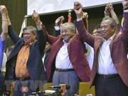 Dirigentes mundiales felicitan al primer ministro electo de Malasia