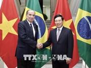 Canciller de Brasil realiza visita a Vietnam