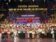 Distinguen a trabajadores jóvenes cualificados de Vietnam