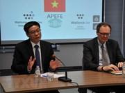 Promueven cooperación entre Vietnam y región Valona-Bruselas de Bélgica