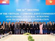 Vietnam y Camboya promueven una cooperación plena y estable