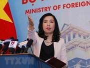 Vietnam apoya esfuerzos para contribuir a la paz en Península de Corea