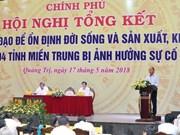 Solución de incidente ambiental de Formosa es lección paralocalidades, afirma premier vietnamita