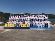 Marina de Vietnam adquiere experiencias en ejercicio naval Komodo 2018